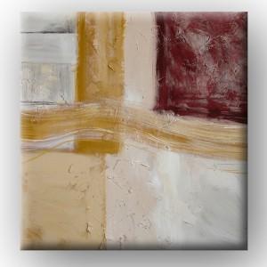 "Óleo sobre lienzo ""Yellow Desert"""