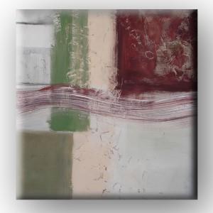 "Óleo sobre lienzo ""Green desert"""