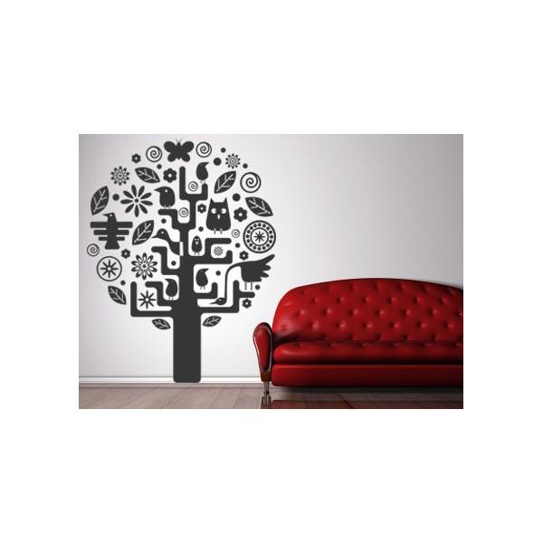 Vinilo decorativo rbol indio imagina tu cuadro for Tu vinilo decorativo